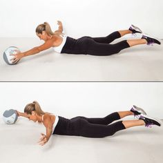 Medicine Ball Workout - Medicine Ball Exercises: Burn Fat and Flatten Your Belly - Shape Magazine