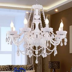love for chandeliers!