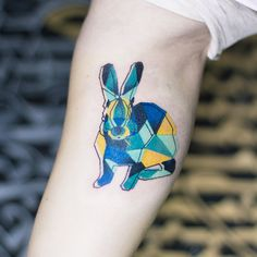 tattoo of dogs geometric abstract - Google Search