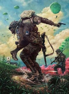 Hoorah!!!  Never leave a fallen Soldier behind.