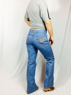 Vintage high waisted pants vintage wrangler jeans vintage denim jeans high…