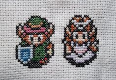 These remind me that I still want handkerchiefs embroidered with various old-school gaming symbols.