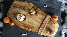 Gâteau cercueil d\'Halloween