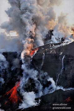 Eyjafjöll volcano's first eruption 7 years ago