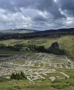 Great Temple of late bronze age Hittite capital, Hattusas, Bogazkoy Turkey