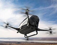 ehang 184 autonomous single-passenger drone touches down at CES 2016