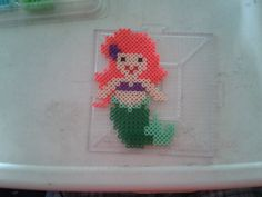 Disney Ariel perler beads by Eleka Peka