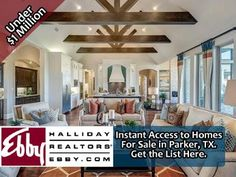 Get an instant list of homes for sale in Parker, TX 75002 priced under $1,000,000. Fully searchable and no sign up required.
