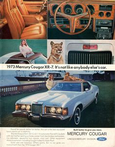 1973 Ford Mercury Cougar XR-7 Advertising US News & World Report December 4 1972 (8)