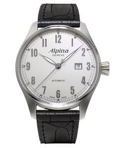Alpina Startimer Classic (ref. AL-525SC4S6) . Swiss made pilot watch.