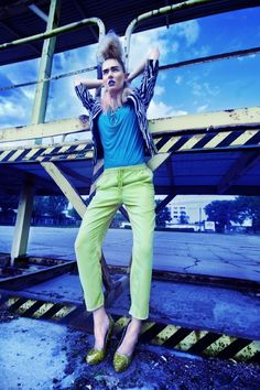 Dew #6  Fall 2012  Photographer: Marta Macha  Model: Anna G  Stylist: Marta Morawiecka