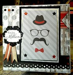 Used the Kanban teenager kit to make a fun dapper gentlemen dard. Dapper Gentleman, Teenagers, Card Ideas, Birthdays, Kit, Frame, Cards, Christmas, How To Make