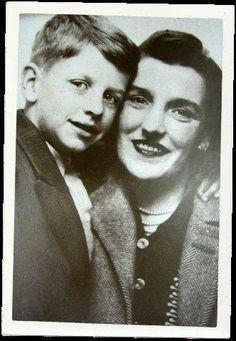 Ringo Starr y su madre
