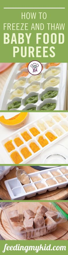 Freezing food doesn't have to be hard. Learn how to freeze baby food in this helpful article. Feeding My Kid is a filled with all the information you need about how to raise your kids, from healthy tips to nutritious recipes. #freezingfood #freezingtips #FeedingMyKid