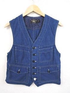 RRL COTTON WORK VEST