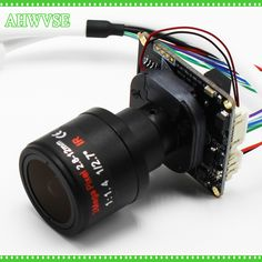 Starlight Low Illumination High Resolution CCTV IP camera module board Lens with LAN cable CCTV camera Cable, Cctv Security Cameras, Module, Surveillance System, Ip Camera, Lens, Stuff To Buy, Board, Safety