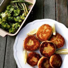 Peg Polka-Dot's Smoky Fishcakes Fishcakes, Make Ahead Meals, Palak Paneer, Family Meals, Polka Dots, Ethnic Recipes, Food, Meal, Essen