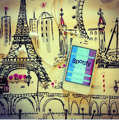 DCS > Duo Creative Studio > WE LOVE PARIS, WE LOVE MUSIC > Spotify + French Playlist = Perfect <3