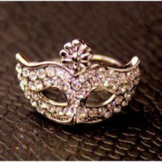 Sweet #Chic Secret Masquerade #Ring - Silver
