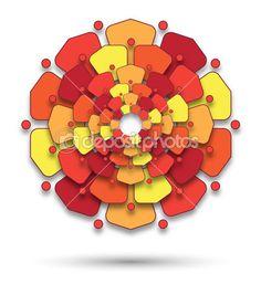 plastická kvetová mandala Bowser, Mandala, Stock Photos, Free, Fictional Characters, Graphics, Graphic Design, Printmaking, Fantasy Characters