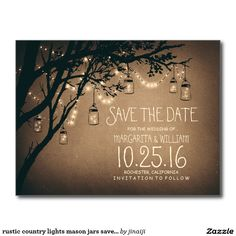 Wonderful and charming rustic save the date postcards that are sure to impress! Create your perfect rustic wedding save the date postcards today with Zazzle! Vintage Save The Dates, Rustic Save The Dates, Save The Date Postcards, Wedding Save The Dates, Save The Date Cards, Custom Postcards, Country Wedding Invitations, Save The Date Invitations, Vintage Wedding Invitations