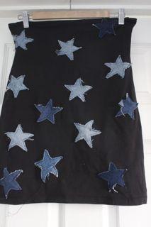 #DIY Star Pencil Skirt | #Fashion blog | Oxfam GB