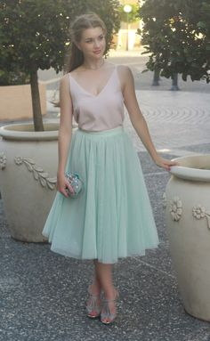 Soft mint green and ballerina-inspired skirts now on #theprofessionalcinderella.com : @made_in_chelsey #ootd #outfitoftheday #lookoftheday #fashion #fashiongram #style #love #beautiful #currentlywearing #lookbook #wiwt #whatiwore #whatiworetoday #ootdshare #outfit #clothes #wiw #mylook #fashionista #todayimwearing #tulle #ballet #ballerina #pastel #soft #forevernewstyle #mimco