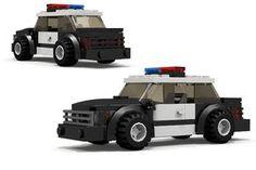 Custom LEGO Police Car MOC http://www.custombricksets.com/product/lego-police-car/