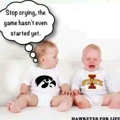 Well said! [Go Noles! Florida State Football, Florida State University, Iowa State, Iowa Hawkeye Football, Iowa Hawkeyes, Nfl Saints, Who Dat, Go Blue, Sports Humor