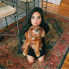 Brittany O'Grady and a dog. She has the same dog as me Star Cast Fox, Lee Daniels Star, Star Tv Series, Young Girl Fashion, Love Stars, Interesting Faces, Female Singers, Celebs, Celebrities