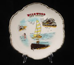Vintage Collectible Ceramic Plate Souvenir by KitschyKitschyYAYAYE