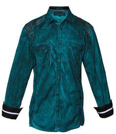 KEARNEY II - TEAL- Shirts- Roar Clothing