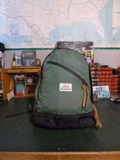 9d68c4808a Vintage Brown Label Gregory Day Pack Backpack - Green