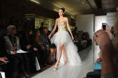 Kendall And Kylie Jenner Model In Sherri Hill Spring 2013 Runway Show (PHOTOS)
