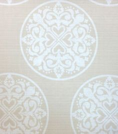 Outdoor Fabric-Medallion Natural