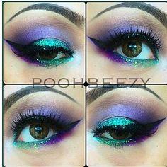 I would rock this makeup.