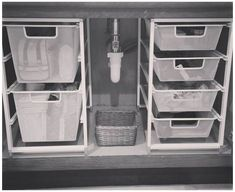 Useful Ideas How to do Bathroom Cabinet Organization - Almost every bathroom has. - Useful Ideas How to do Bathroom Cabinet Organization – Almost every bathroom has… - Under Kitchen Sink Organization, Under Cabinet Storage, Under Kitchen Sinks, Bathroom Cabinet Organization, Sink Organizer, Bathroom Organisation, Storage Cabinets, Diy Organization, Bathroom Cabinets