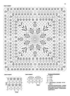 Best 12 How to Crochet a Solid Granny Square – SkillOfKing. Crochet Doily Diagram, Crochet Square Patterns, Crochet Motifs, Crochet Blocks, Crochet Stitches Patterns, Doily Patterns, Crochet Chart, Crochet Squares, Crochet Granny