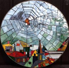 Glass mosaic by Marike Hoekstra