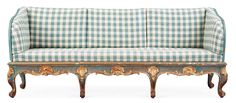 Gustavian Swedish Sofa, at auction