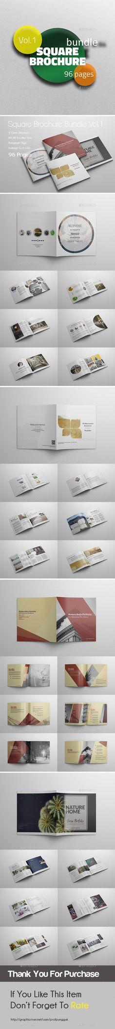 Square Brochure Bundle Vol.1