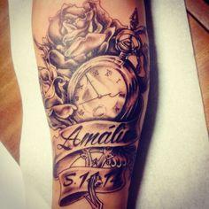Pocket watch watches tattoo designs, sleeve tattoos и tattoos. Watch Tattoos, Time Tattoos, New Tattoos, Cool Tattoos, Tatoos, Tattoo For Son, Tattoos For Kids, Tattoos For Daughters, Mommy Tattoos