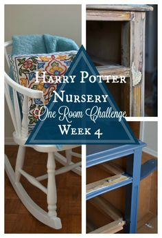 Harry Potter Nursery | One Room Challenge - Week 4 | flourishandknot.com