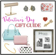 Valentine's Day Gift Guide for Her #valentinesday #vday #valentines #blogpost #targetfinds #katespade #kendrascott #hearts #lipprint #bows #love