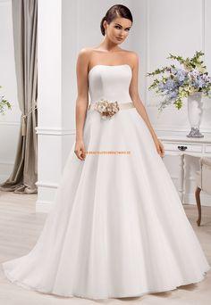 A-Linie Designer Hochzeitskleider aus Organza