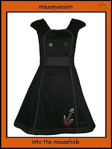 The sale continues Living Dead Souls Nautical, rockabilly, retro dress £33.99