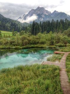 Zelenci, Podkoren, Slovenia