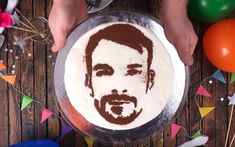 With this trick you can put your passport photo on a cake! Say Cheese! With This Trick You Can Put Your Passport Photo On A Cake! 1 Source by Sandwich Torte, Baking Recipes, Cake Recipes, Chocolate Sponge Cake, Fruit Decorations, Party Buffet, Cupcakes, Vanilla Flavoring, Cake Tutorial