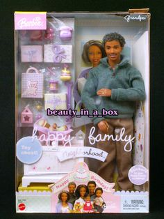 Barbie Happy Family - African American Grandpa