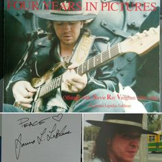 Four Years In Pictures Book, 1st edition, hand signed by Janna